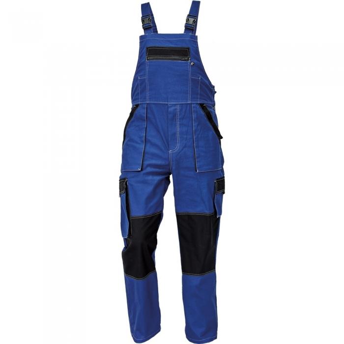 Pantaloni salopeta cu pieptar Cerva MAX SUMMER, 100% bumbac subtire, 220gr/mp 0