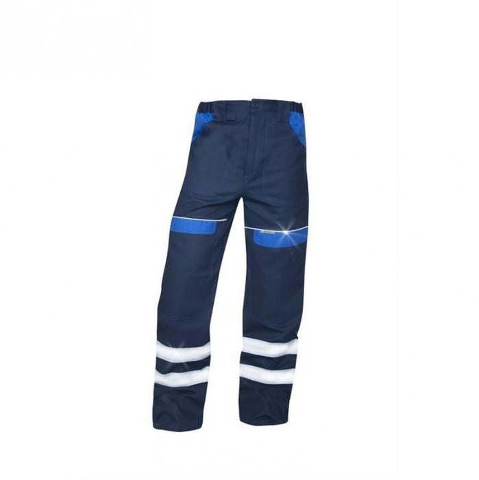 Pantaloni de lucru cu benzi reflectorizante Ardon COOL TREND REFLEX, 100% bumbac, 260gr/mp 0
