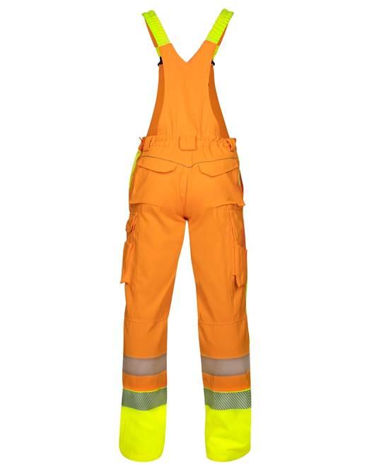 Pantaloni cu pieptar reflectorizanti Ardon SIGNAL, 65% poliester - 35% bumbac, 290gr/mp 2