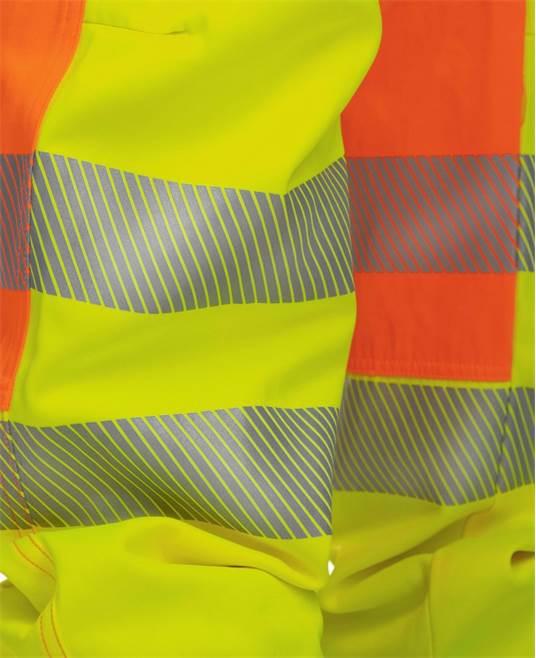 Pantaloni cu pieptar reflectorizanti Ardon SIGNAL, 65% poliester - 35% bumbac, 290gr/mp 7