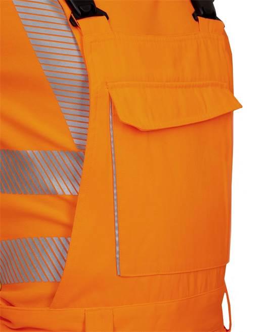 Pantaloni cu pieptar reflectorizanti Ardon SIGNAL, 65% poliester - 35% bumbac, 290gr/mp 6