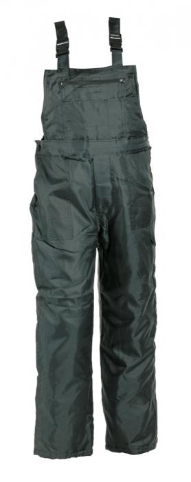Pantaloni cu pieptar vatuiti de iarna Cerva TITAN, 100% poliester [0]