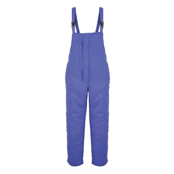 Pantaloni cu pieptar vatuiti de iarna Renania IVAN, 100% bumbac, 300gr/mp 0