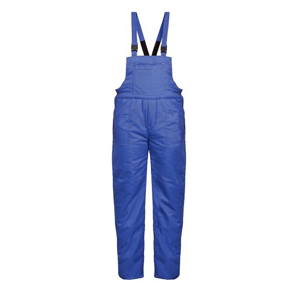 Pantaloni cu pieptar vatuiti de iarna Renania MINSK, tercot 65/35 0