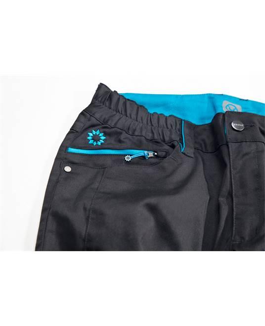 Pantaloni de lucru  dama Ardon FLORET, 64% poliester - 33% bumbac, 260gr/mp 4