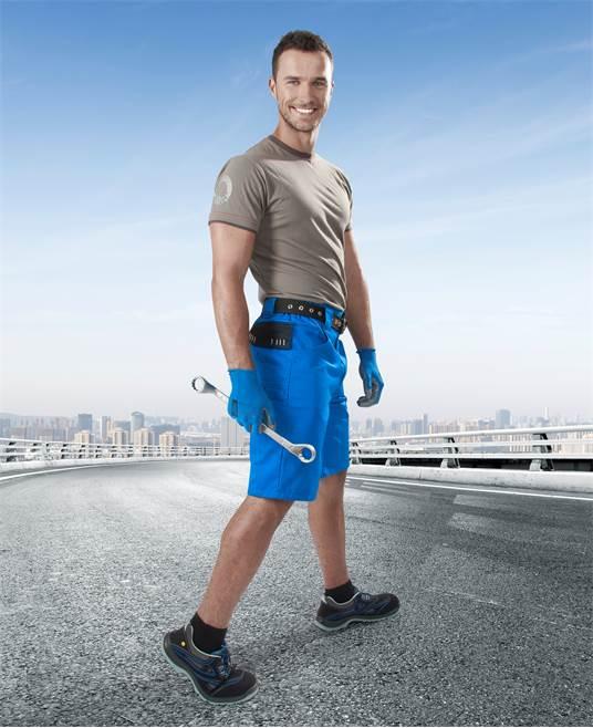 Pantaloni de lucru scurti 4TECH Ardon [2]