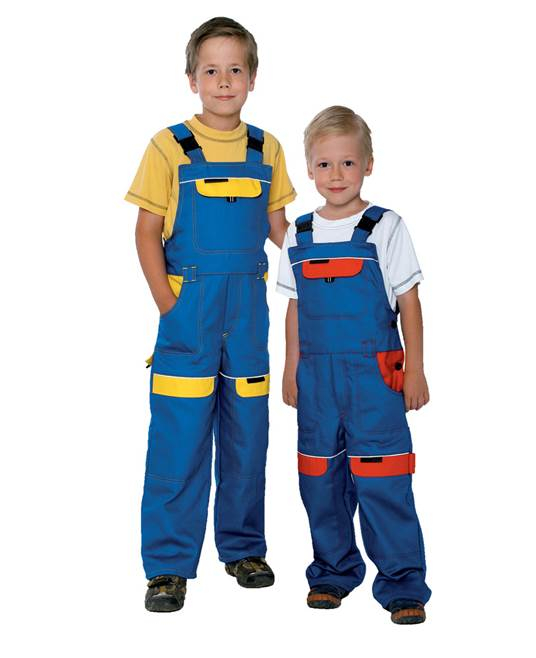 Pantaloni protectie copii Ardon COOL TREND, 100% bumbac, 260gr/mp 0