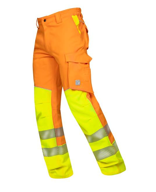 Pantaloni reflectorizanti Ardon SIGNAL, 65% poliester - 35% bumbac, 290gr/mp 3