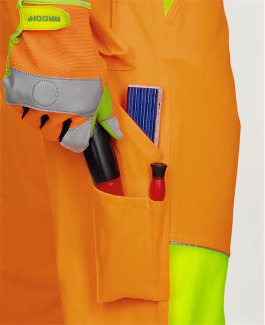 Pantaloni reflectorizanti Ardon SIGNAL, 65% poliester - 35% bumbac, 290gr/mp 5