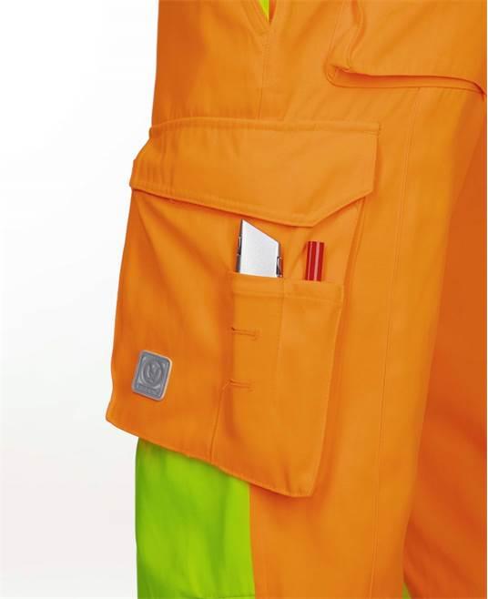 Pantaloni reflectorizanti Ardon SIGNAL, 65% poliester - 35% bumbac, 290gr/mp 4