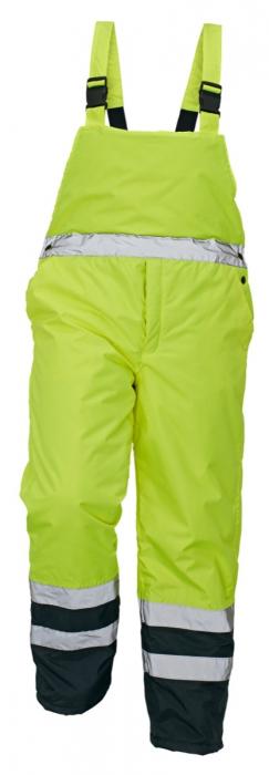 Pantaloni reflectorizanti cu pieptar de iarna Cerva PADSTOW 100 %poliester 0