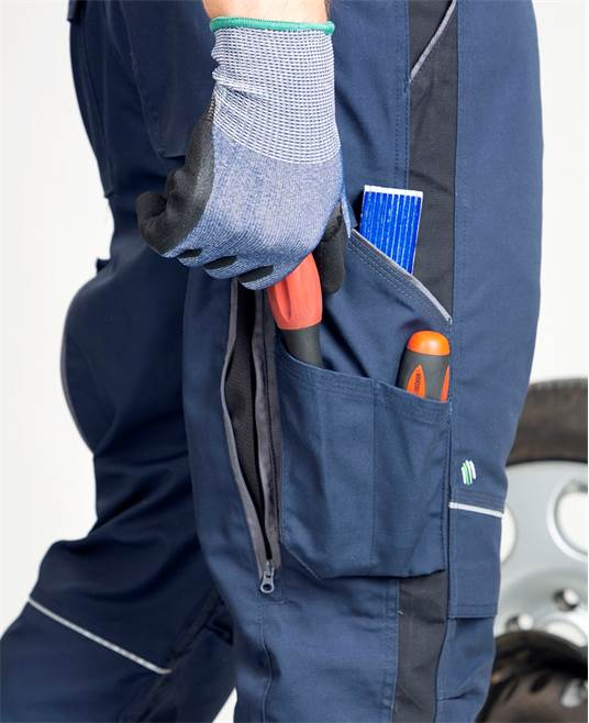 Pantaloni salopeta cu pieptar Ardon URBAN+ 3