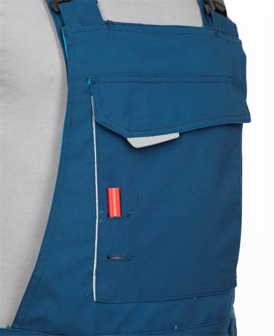 Pantaloni salopeta cu pieptar Ardon URBAN, 65% poliester - 35% bumbac, 270gr/mp 8