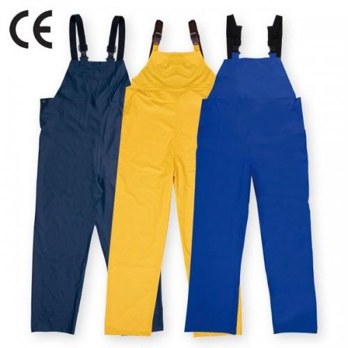 Pantaloni salopeta cu pieptar impermeabili Renania ROSTOK, poliuretan 0