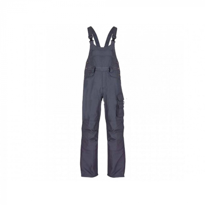 Pantaloni salopeta cu pieptar Renania CEZAR, tercot 65/35, 320 gr/mp 0