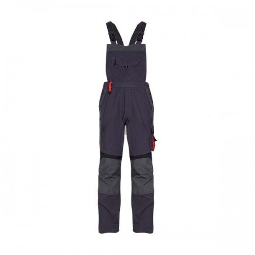 Pantaloni salopeta cu pieptar Renania EDUARD, tercot 65/35, 270gr/mp, tesatura canvas 0