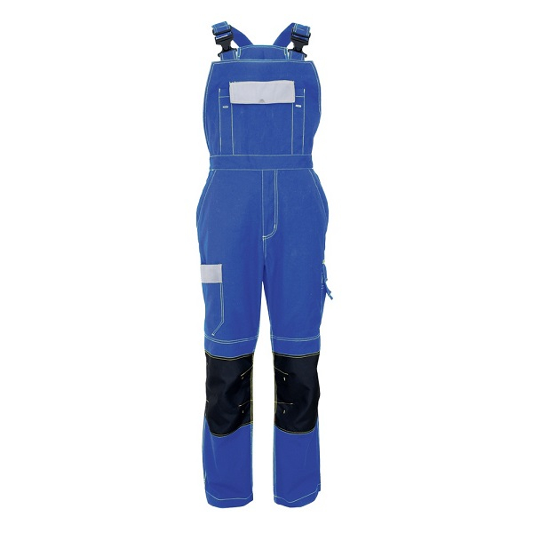 Pantaloni salopeta cu pieptar Renania SOLOMON, 100% bumbac, 245gr/mp 0