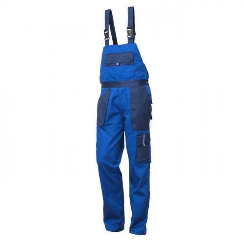 Pantaloni salopeta cu pieptar Renania VULCANO, tercot 65/35, 235 gr/mp 0