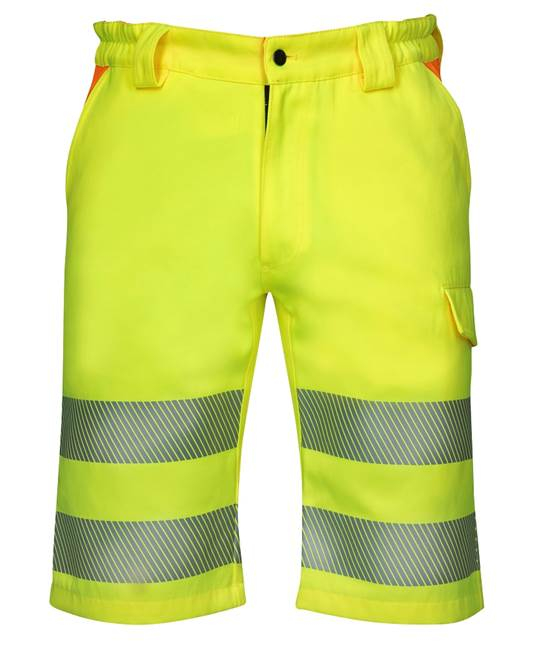 Pantaloni scurti reflectorizanti Ardon SIGNAL, 65% poliester - 35% bumbac, 290gr/mp 0