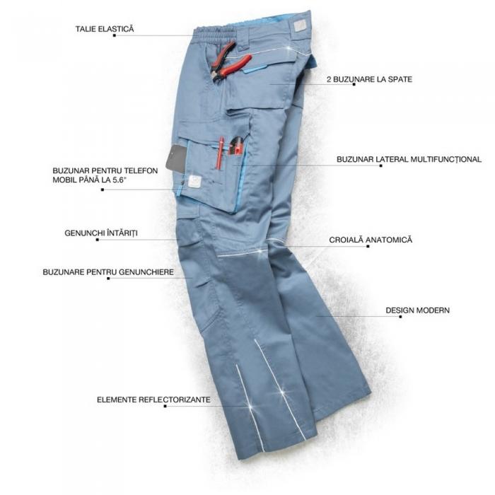 Pantaloni de lucru Ardon SUMMER, tercot 65/35, 200gr/mp 2