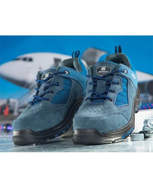 Pantofi de protectie Ardon TURNER S1P, cu bombeu metalic si lamela 1