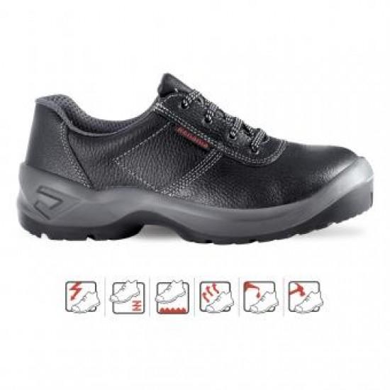 Pantofi de protectie Bicap CUNEO S1, cu bombeu metalic [0]