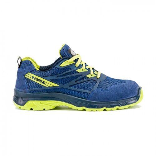 Pantofi de protectie Bicap INDACO S1P, cu bombeu metalic si lamela 0