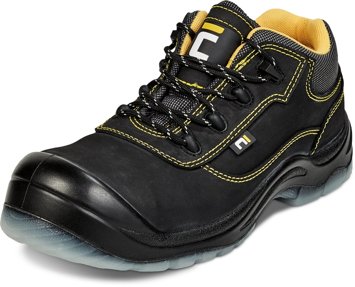 Pantofi de protectie Cerva BK TPU MF S3,cu bombeu compozit si lamela 0