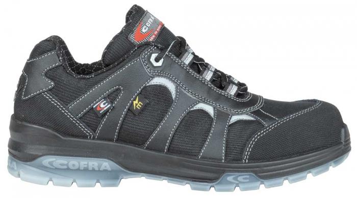 Pantofi de protectie Cofra FRANKLIN BLACK SB E P FO SRC, electricieni [0]