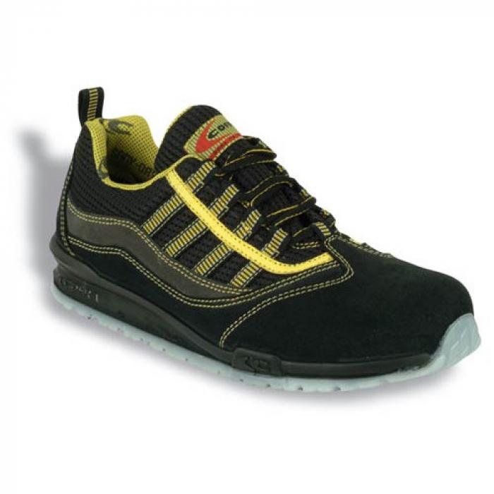 Pantofi de protectie Cofra MARCIANO S1P, cu bombeu din aluminiu si lamela 0