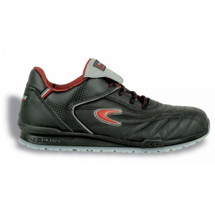 Pantofi de protectie Cofra MEAZZA S1P, cu bombeu din aluminiu si lamela 0