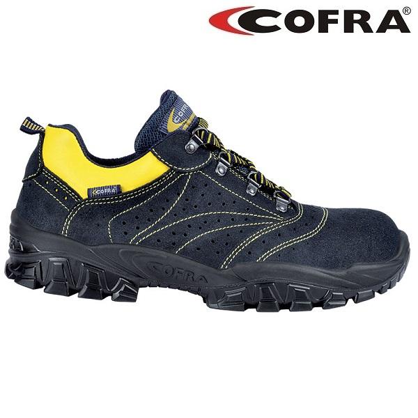 Pantofi de protectie Cofra NEW ARNO S1, cu bombeu metalic 0