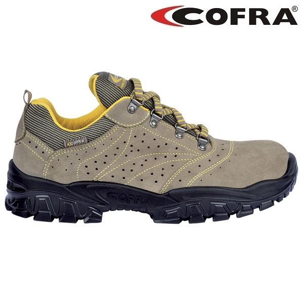 Pantofi de protectie Cofra NEW NILO S1P, cu bombeu metalic si lamela 0