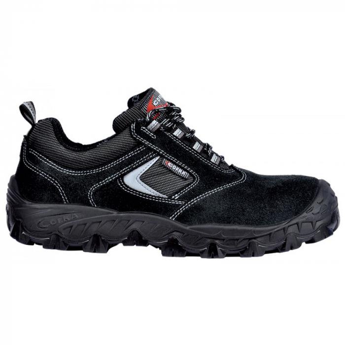 Pantofi de protectie Cofra NEW SUEZ S1P, cu bombeu fibra sticla si lamela 0
