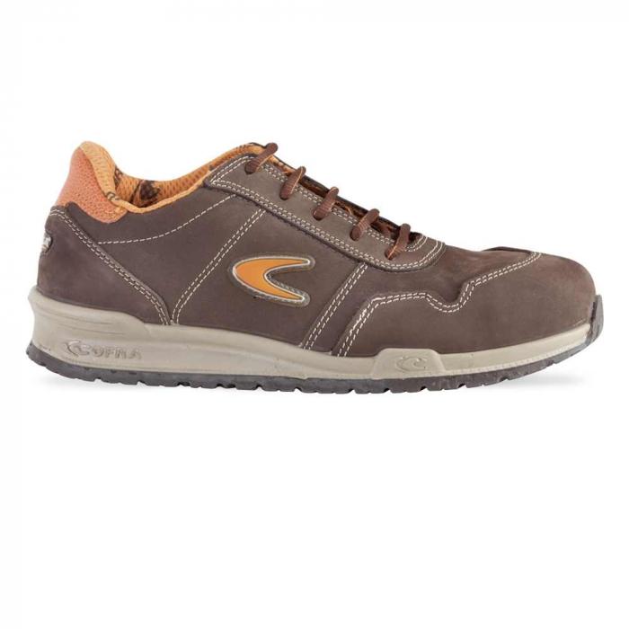 Pantofi de protectie Cofra YASHIN S3, cu bombeu din aluminiu si lamela [0]