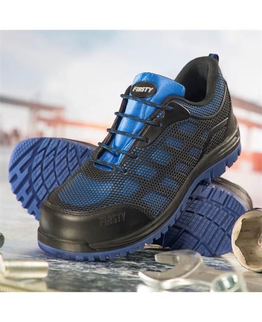 Pantofi de protectie metal free Ardon BLUESTONE S1P, cu bombeu compozit si lamela 1