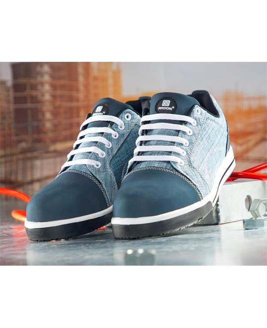 Pantofi de protectie metal free Ardon DERRIK DENIM S1P, cu bombeu compozit si lamela 1