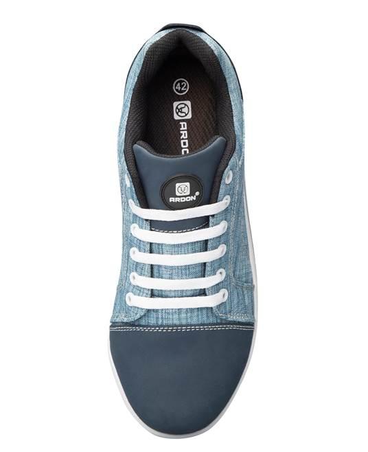 Pantofi de protectie metal free Ardon DERRIK DENIM S1P, cu bombeu compozit si lamela 3