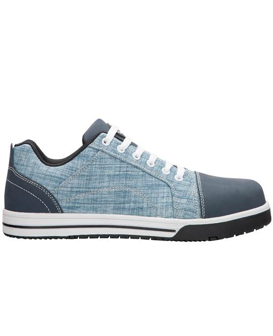 Pantofi de protectie metal free Ardon DERRIK DENIM S1P, cu bombeu compozit si lamela 0