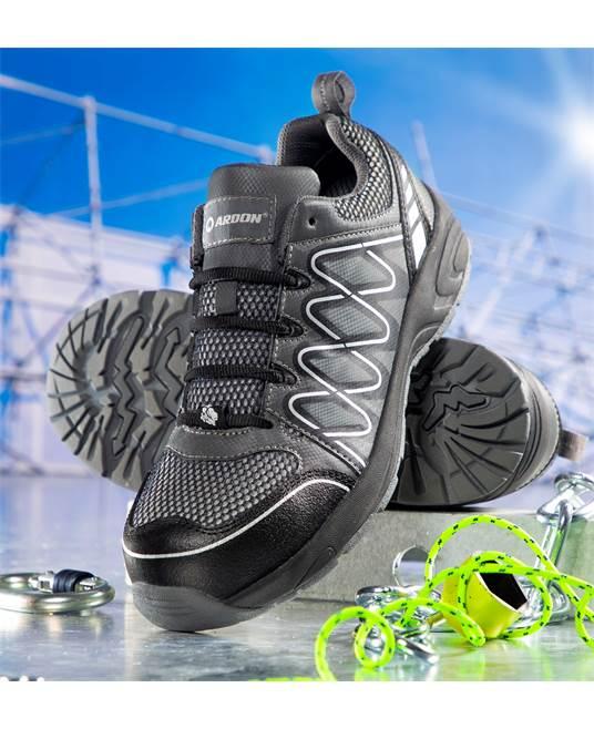Pantofi de protectie metal free Ardon VISPER S1P, cu bombeu compozit si lamela 1