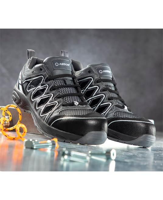 Pantofi de protectie decupati Ardon VISPER S1P, cu bombeu compozit si lamela, metal free [1]