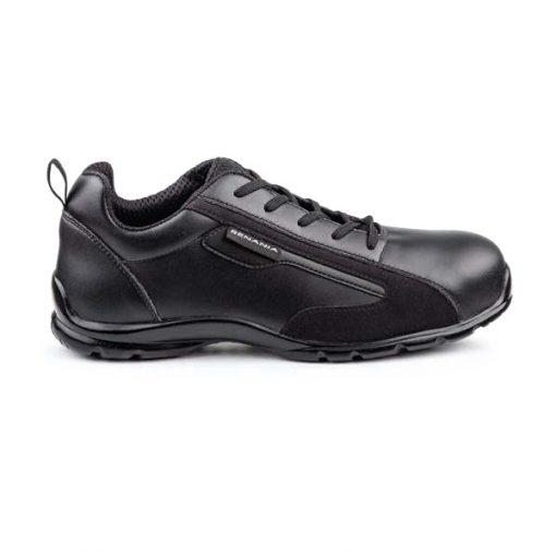 Pantofi de protectie Renania EAGLE BLACK S3, cu bombeu din compozit si lamela 0