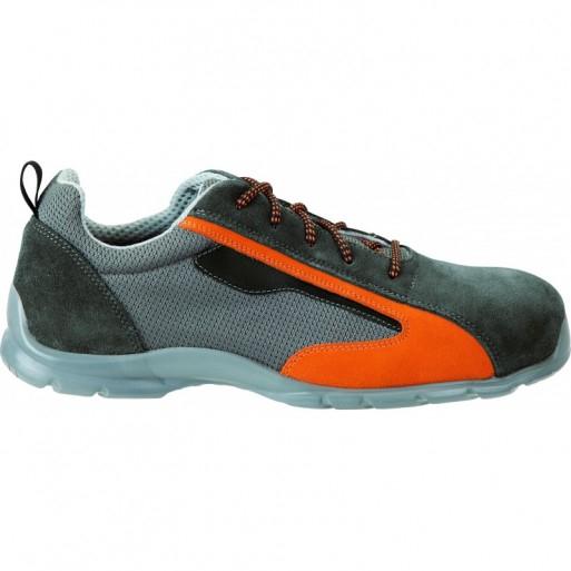 Pantofi de protectie Renania EAGLE S1P, cu bombeu din compozit si lamela 0