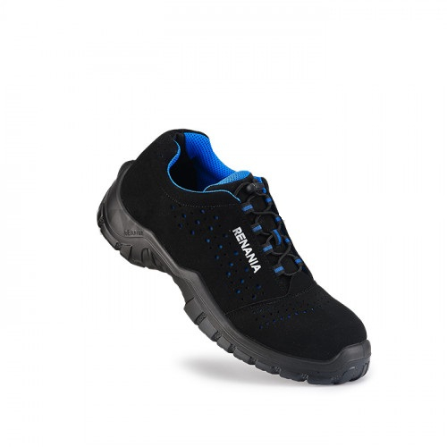 Pantofi de protectie Renania QOMODO S1P, cu bombeu nemetalic si lamela 0