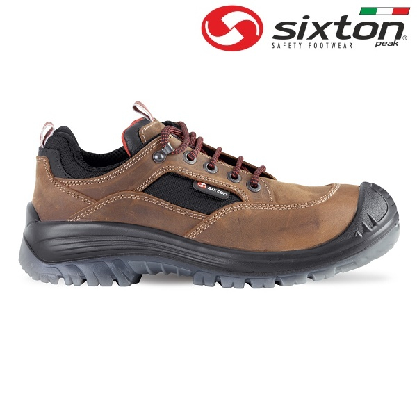 Pantofi de protectie Sixton BROWN LAND S3, cu bombeu din compozit si lamela 0