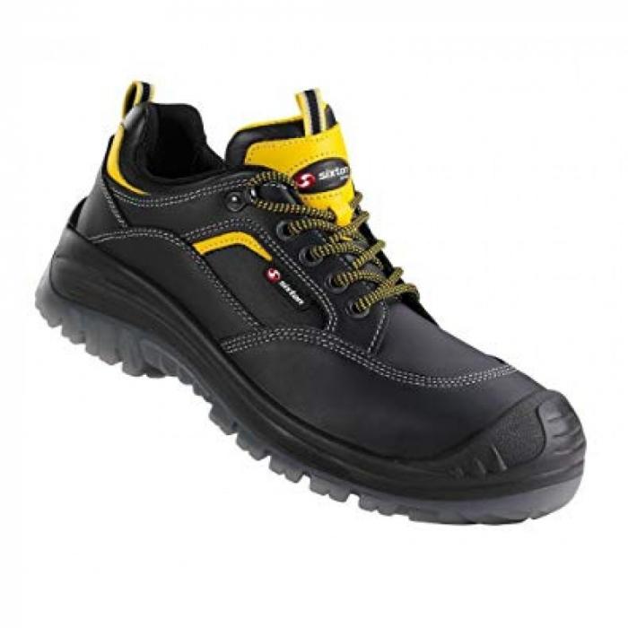 Pantofi de protectie Sixton LAND S3, cu bombeu din compozit si lamela 0