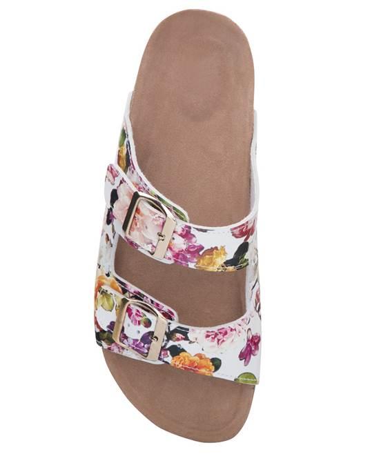 Papuci dama cu talpa din pluta  Ardon JUNO ROZE 3