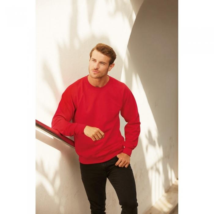 RAGLAN SWEAT | bluza clasica flausata de iarna 1