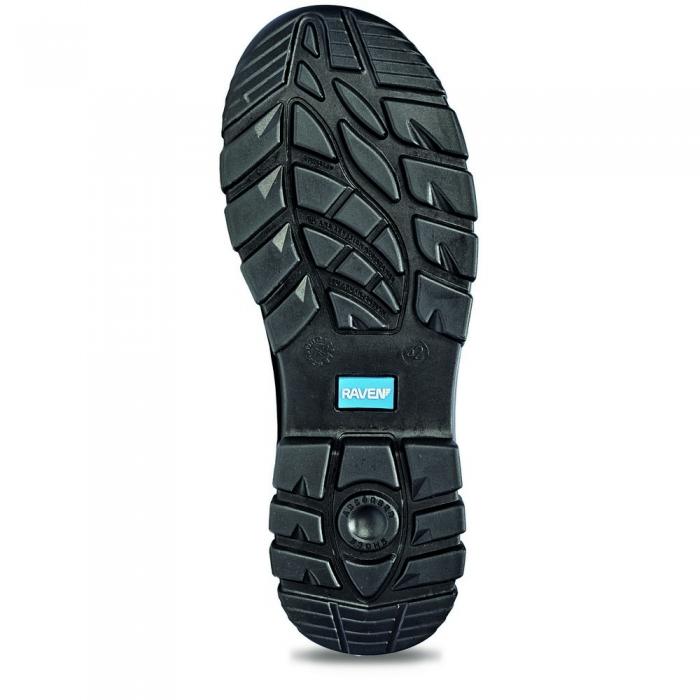 Pantofi de protectie Cerva RAVEN XT S1P, cu bombeu metalic si lamela 3