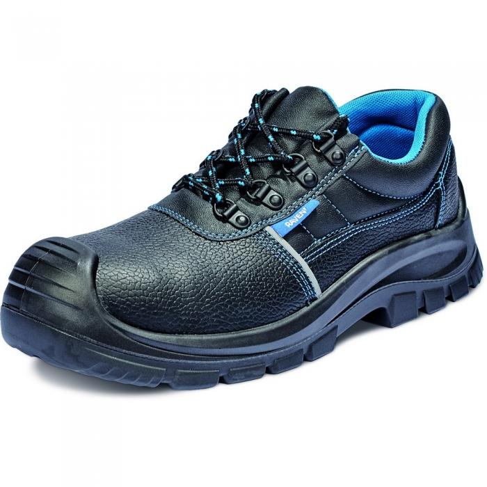 Pantofi de protectie Cerva RAVEN XT S1P, cu bombeu metalic si lamela 0